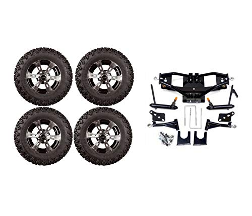 - 3G Lift Kit Combo with 12 inch Colossus for Club Car DS Golf Carts- 2004 and up