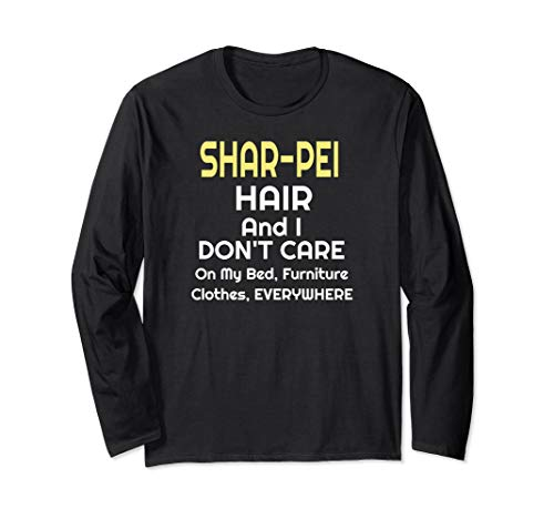 Shar-pei Shirt Owners Breeders Love Long Sleeve T-Shirt