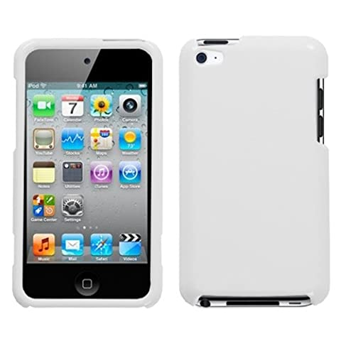 Solid Ivory White Phone Protector Faceplate Cover For APPLE iPod touch(4th generation) - Case Faceplate Cover Ipod