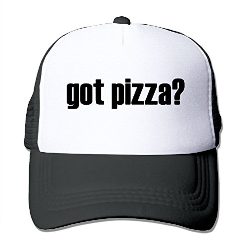 YoupE GOT PIZZA Outdoor Mesh Hat Golfer Snapback Cap Adjustable (Mad Hatter Gif)