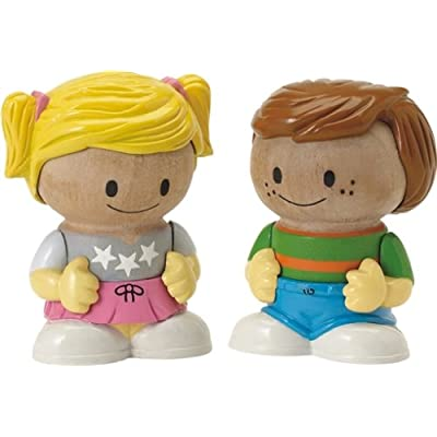 Learning Curve Play Town: Core Family Figures - Boy/Girl 2-Pack: Toys & Games
