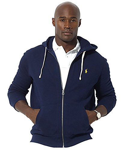 Polo Ralph Lauren Classic Full-Zip Fleece Hooded Sweatshirt at Amazon Men\u0026#39;s Clothing store: