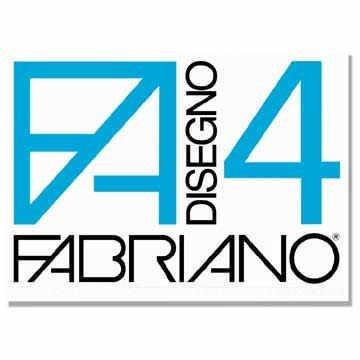 Fabriano-05201797-Disegno-4-Liscio-Riquadrato-33-x-48-cm-220-GMq-20-Fogli