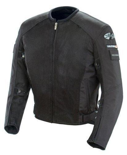 Joe Rocket Men's Recon Military Spec Mesh Jacket (Black, Large)