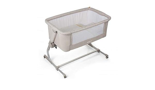 Jane - Minicuna de colecho jané babyside beige/blanco: Amazon.es: Bebé