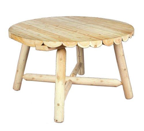 Cedarlooks 0200013 Log Round Dining Table, 48-Inch Rustic Cedar Round Table