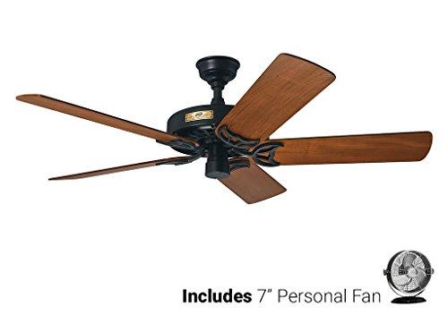 Hunter Outdoor Ceiling Fan Black 23863 52