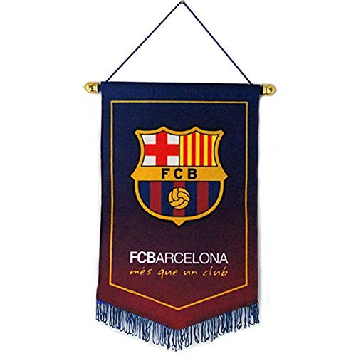 Sportky Football Club Flags Soccer Vertical Banner Flag Indoor and Outdoor Flags Bar/Club/Bedroom Decoration Hanging Flags (FC Barcelona, 3824cm(159.4 inch)) ()