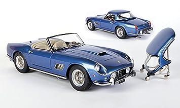 Ferrari 250 Gt Swb California Spyder Met Blue 1961 Model Car