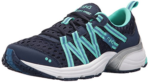 RYKA Women's Hydro Sport Water Shoe Cross Trainer, Blue/Teal, 7 M US Blue/Teal 7 M US