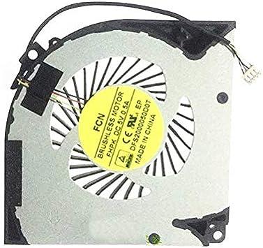 FCQLR Laptop Ventilador para Gigabyte Aorus X5 X5S V5 V6 ...