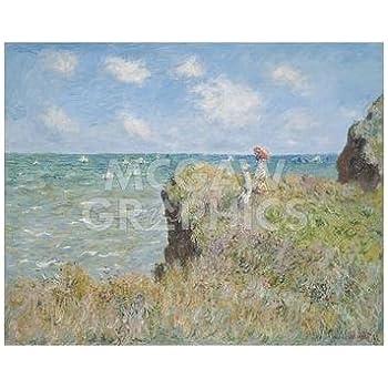 Cliff Walk at Pourville 1882 Claude Monet Art Print 8x10