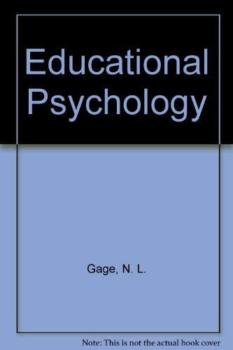 Study Guide for Gage/Berliner's Educational Psychology, 6th