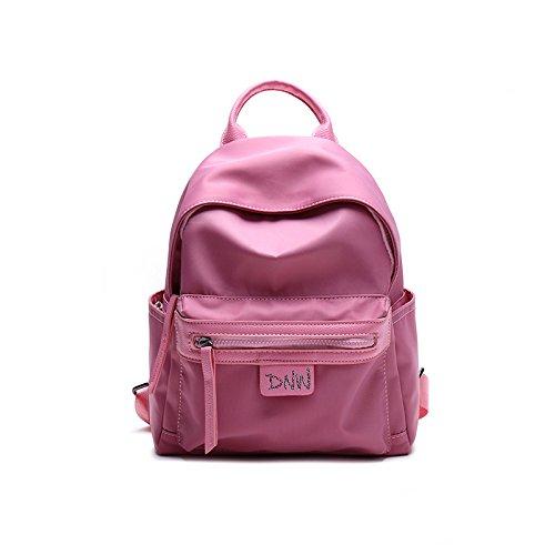 Bolsa mochila HEMBRA hembra todos-match campus mochila pequeña Rosa tuba Pink Medium
