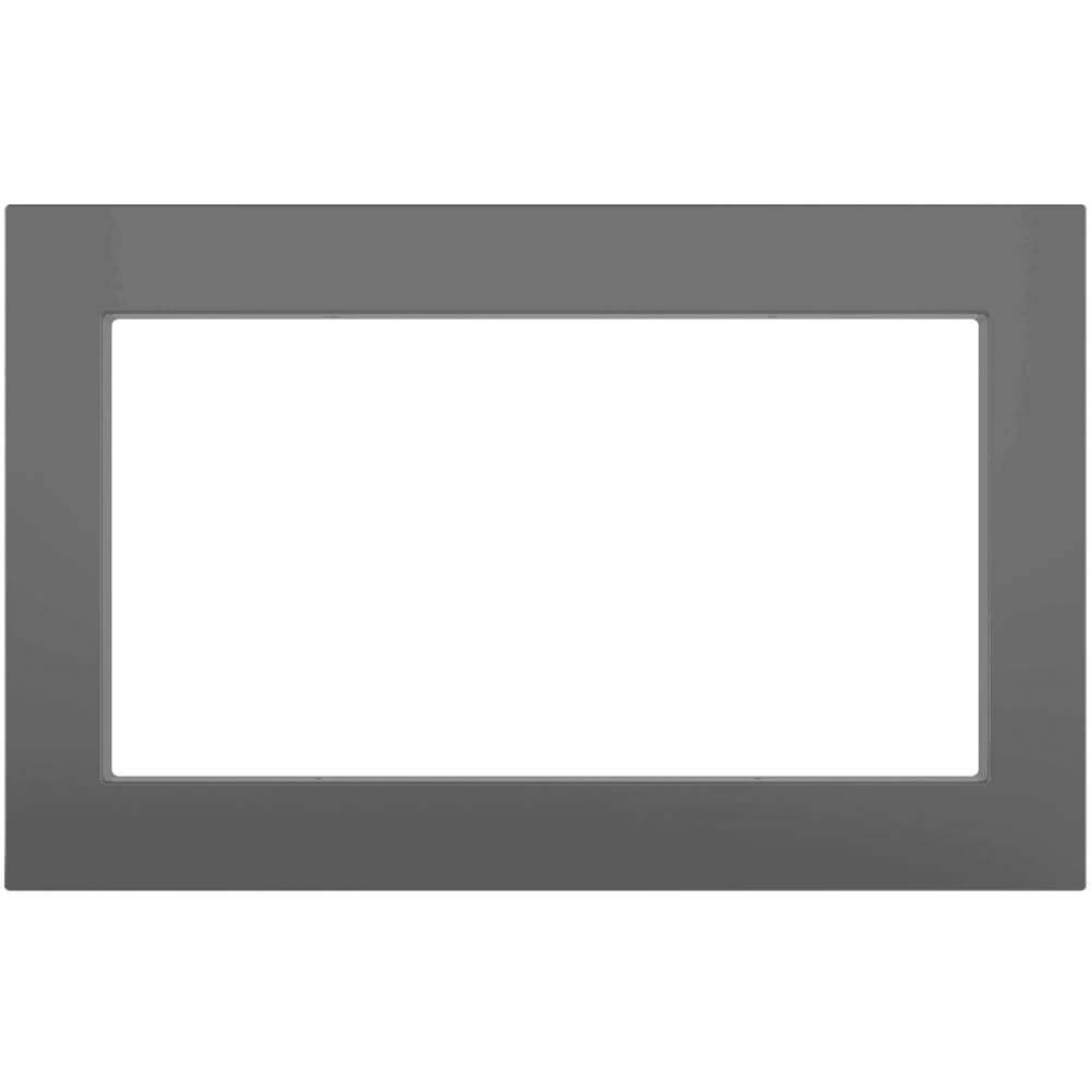 "GE Black 27"" Built-in Microwave Oven Trim Kit"