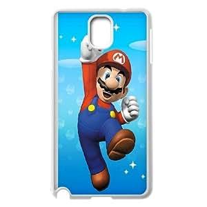 Samsung Galaxy Note 3 Cell Phone Case White Super Mario pobn