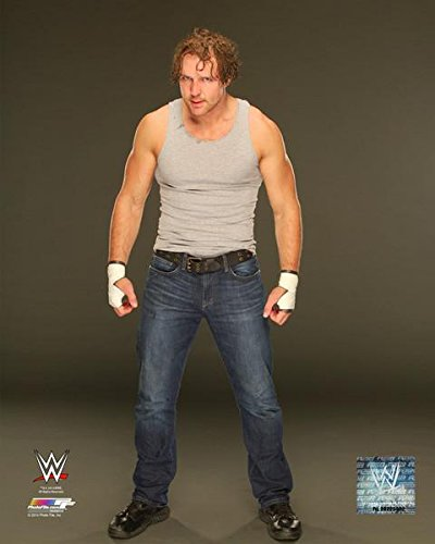 amazon com dean ambrose wwe 16x20 photo poster 2014 posed grey