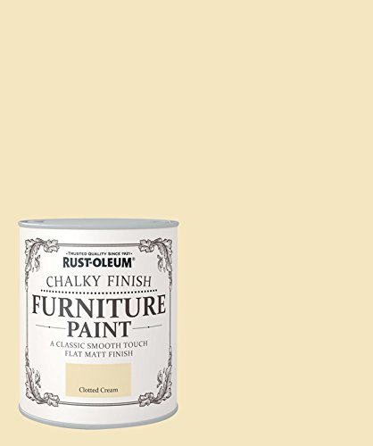 25 opinioni per Rust-Oleum, Pittura per mobili, finitura effetto gesso, 750 ml