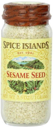 Spice Islands Sesame Seed, Whole White, 2.5-Ounce (Pack of 3) by Spice Island