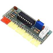 Funny 10 LED Audio Level Indicator LM3915 DIY Kit Electronic Sound Audio Spectrum Analyzer Level Indicator Suite Module