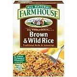 Farmhouse, Brown & Wild Rice, 4oz Box (Pack of 6)