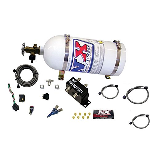 Wet Nitrous System - Nitrous Express 20420-10 Proton Series Nitrous System with 10lbs. Bottle