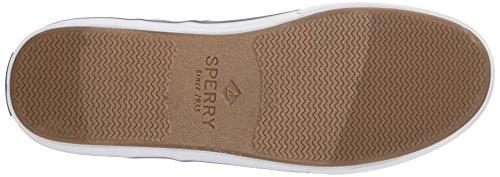 Sperry Herren Striper II CVO Washed Black Sneaker Grigio