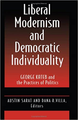 Book Liberal Modernism and Democratic Individuality