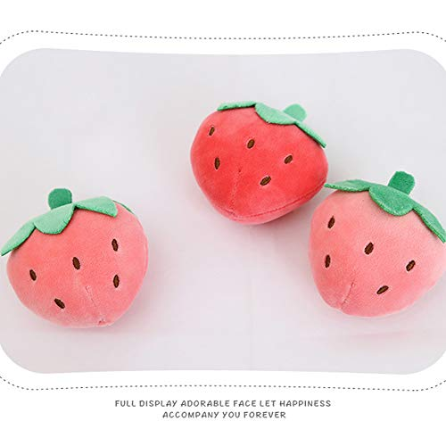Details about  /Cute Strawberry Plush Swirl Fur Body Hood Food Drink Costume Toddler Girls
