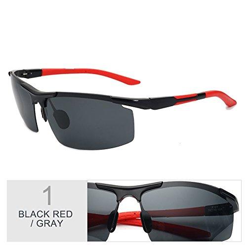 Gafas Gray Semi De Luz Mg Trajes De Filtrar Rayos Gris De Hombre Anteojos Al Red Reborde Sol Gafas Guía Gafas Black Los De Negro Hd Polarizadas TIANLIANG04 1pFqH