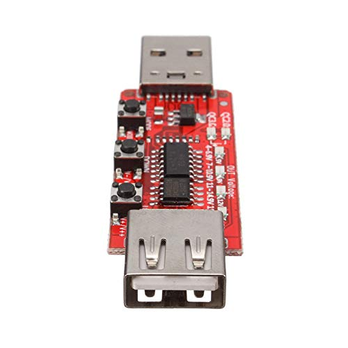 (1PC QC2.0/qc3.0 Tester Automatically Detects Phone Quick Charge Voltage Meter Simulator Trigger 9V/12V/20V Aging Test Board)