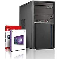 Intel i5 Business Office Multimedia Computer mit 3 Jahren Garantie! | Intel i5 4570 4x3.6 GHz | 16GB | 256GB SSD | 1TB | Geforce GT 710 | USB3 | DVD±RW | Win10 | WLAN | MS Office 2010 | GDATA | #6076