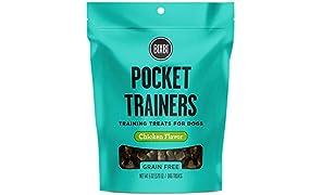 Bixbi Pocket Trainers Dog Treats, Chicken, 6 Ounce