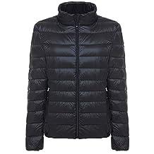 Wantdo Women's Packable Ultra Light Weight Short Down Jacket