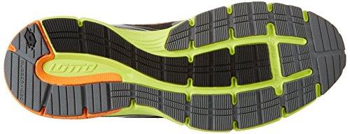 Lotto Aq 400, Zapatillas de Running para Hombre Negro (Blk/reflex)