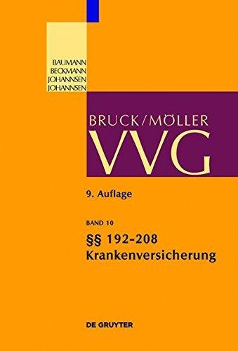 §§ 192-208 Krankenversicherung: Band 10 (Großkommentare der Praxis) (German Edition)