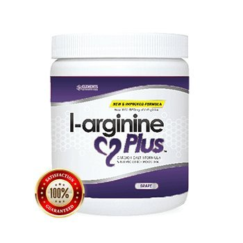 L-arginine Plus® #1 L-arginine Supplement - 5110mg L-arginine & 1010mg L-citrulline Vitamins & Minerals to Support Blood Pressure, Cholesterol and More 13.4 ounce