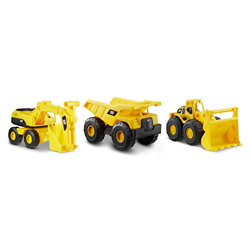 "CAT Construction 7"" Dump Truck, Loader & Excavator Combo Pack"