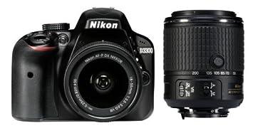 Nikon D3300 18-55/3.5-5.6 AF-P G DX 55-200/4.0-5.6 AF-S G DX ...