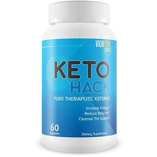 Keto Hack - Beta Keto Rush Pills - Accelerated Fat Burning Pills for Women - Become a Keto Burn Fat Burner - These BHB MG Beta Keto Pills Isolate Fat Burn to Turn Your Body into a Fat-Burning Machine