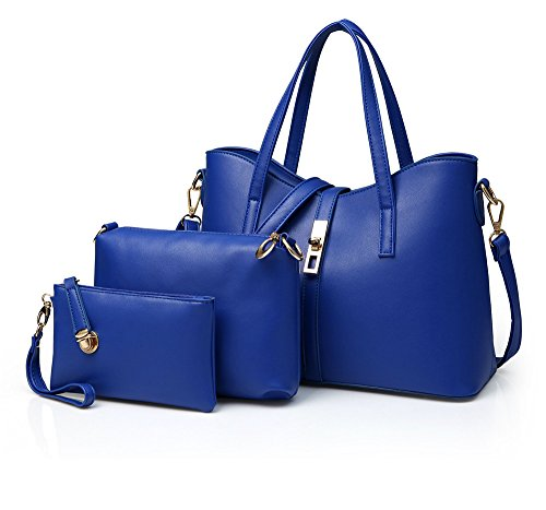 Satchel Dames Jxth Three Pieces Handtas Schouder Casual Blue Lady Reiziger Top Messenger Casual Gifts Ladies Simple Dames For qHOpRYnH