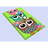 Retro Owl Stack Decorative Switchplate Cover