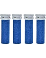4 Pack Replacement Roller Refills Compatible with Scholl Express Pedi Foot Smoother-Extra Coarse