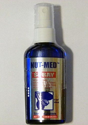(NUTMED REGULAR (Wintergreen) - Nutmeg based Spray, 60ml (Product of Grenada, Caribbean))