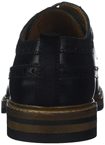 Zapatos De noir Fgl Cordones Hombre 902 Sebago Para Wilson Negro Derby 1FUwxx