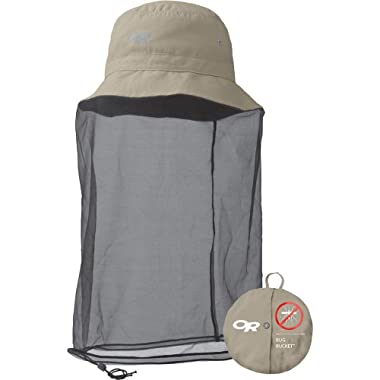 Outdoor Research Bug Bucket Bug Protection Hat, Khaki, Large