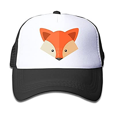 Classic Fox Baseball Cap Adjustable Trucker Hat for Children from LCUCE