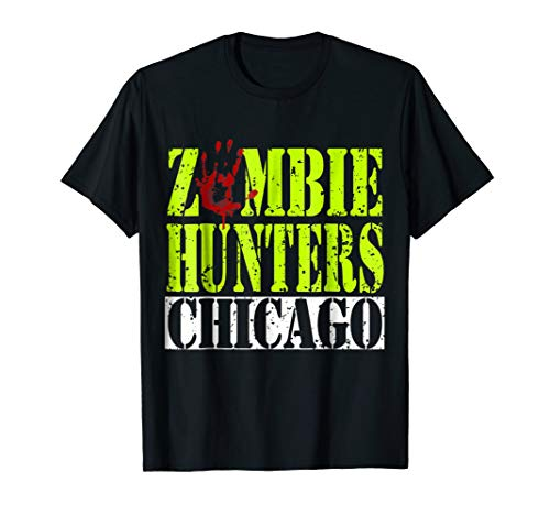 Zombie Hunters Halloween Costume T-shirt Gift for Kids