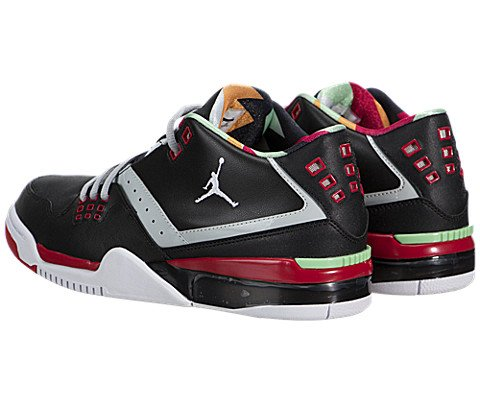 Jordan Nike Men's Flight23 Black/White/Gry MST/Unvrsty RD Basketball Shoe 12 Men US by Jordan (Image #3)