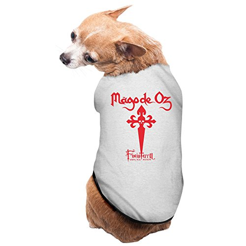 mayfay-mago-de-oz-pensando-en-ti-fiesta-pagana-dog-raincoat-gray-large